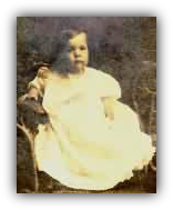 Image: Author John Snyder's grandmother at about one year old.